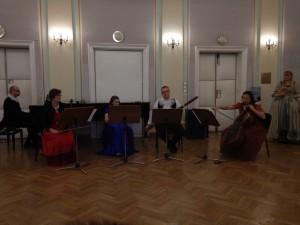 zespół w filharmonii