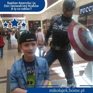 Kapitan Ameryka i ja