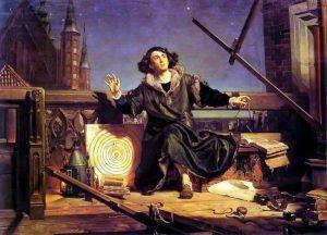 """Jan Matejko """"Astronom Kopernik, czyli rozmowa z Bogiem"""""""